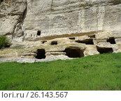 Пещерный город Качи-Кальон. Крым (2017 год). Стоковое фото, фотограф Ярослав Коваль / Фотобанк Лори