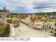 Купить «Rabati Castle in Akhaltsikhe, Georgia», фото № 26158235, снято 29 сентября 2016 г. (c) Elena Odareeva / Фотобанк Лори