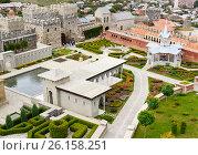 Купить «View on Rabati Castle in Akhaltsikhe, Georgia», фото № 26158251, снято 29 сентября 2016 г. (c) Elena Odareeva / Фотобанк Лори