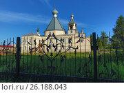 Церковь Ксении Петербургской (2013 год). Стоковое фото, фотограф Иван Малыгин / Фотобанк Лори