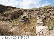 Купить «Развалины античного города Нимфей в Крыму», фото № 26219659, снято 1 июля 2010 г. (c) Бондаренко Олеся / Фотобанк Лори