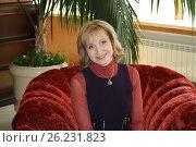 Купить «Ольга Прокофьева», фото № 26231823, снято 17 января 2018 г. (c) Золкин Илья Дмитриевич / Фотобанк Лори