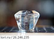 Купить «curved ice cube at bar», фото № 26246235, снято 7 февраля 2017 г. (c) Syda Productions / Фотобанк Лори