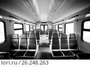 Купить «Passenger railway carriage», фото № 26248263, снято 7 марта 2016 г. (c) Astroid / Фотобанк Лори