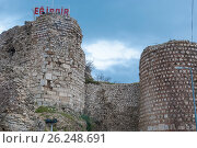 Купить «The fortress of Egirdir. Turkey», фото № 26248691, снято 3 марта 2014 г. (c) Николай Голицынский / Фотобанк Лори