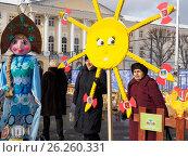 Купить «Масленица, Ярославль 2017», фото № 26260331, снято 19 июня 2019 г. (c) Сергей Гаврилов / Фотобанк Лори