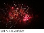 Купить «Салют 9 мая 2017 года. Москва», фото № 26260879, снято 9 мая 2017 г. (c) Алексей Сварцов / Фотобанк Лори