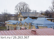 Купить «Москва, усадьба Алтуфьево», фото № 26263367, снято 17 апреля 2017 г. (c) Павел Москаленко / Фотобанк Лори