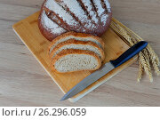 Ломтики хлеба. Стоковое фото, фотограф Александр Палехов / Фотобанк Лори