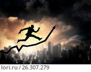 Купить «Business on the move», фото № 26307279, снято 12 марта 2014 г. (c) Sergey Nivens / Фотобанк Лори