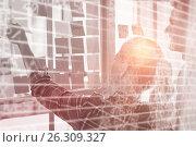 Купить «Composite image of stocks and shares», фото № 26309327, снято 17 июля 2018 г. (c) Wavebreak Media / Фотобанк Лори