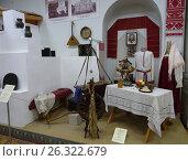 Купить «Крымский этнографический музей. Русские», фото № 26322679, снято 18 мая 2017 г. (c) Ярослав Коваль / Фотобанк Лори