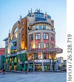 """Торговый центр """"Наутилус"""" в центре Москвы, эксклюзивное фото № 26328719, снято 14 мая 2017 г. (c) Виктор Тараканов / Фотобанк Лори"""