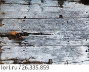 Купить «old wooden boards on floor», фото № 26335859, снято 13 февраля 2017 г. (c) Syda Productions / Фотобанк Лори