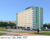 Гостиница Halt Time Hotel. Минск. Беларусь (2016 год). Редакционное фото, фотограф EgleKa / Фотобанк Лори