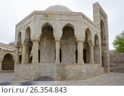 Купить «Divan-hana in Shirvanshahs palace. Icheri sheher (Old Town) of Baku», фото № 26354843, снято 25 апреля 2017 г. (c) Аркадий Захаров / Фотобанк Лори
