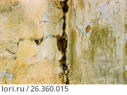 Background of a wall of the old house from fracture. Стоковое фото, фотограф Бронислав Богачевский / Фотобанк Лори