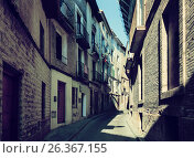 Narrow street at old town. Borja. Стоковое фото, фотограф Яков Филимонов / Фотобанк Лори