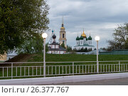 Купить «Вечерняя Коломна. Ново-Голутвина монастырь», фото № 26377767, снято 6 мая 2017 г. (c) Владимир Макеев / Фотобанк Лори