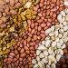 Background of nuts., фото № 26384023, снято 23 апреля 2017 г. (c) Елена Блохина / Фотобанк Лори