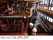 Boiler plant Parnas in St. Petersburg, Russia, фото № 26389247, снято 16 декабря 2016 г. (c) Лиляна Виноградова / Фотобанк Лори