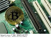 Купить «Новая, стабильная, анонимная криптовалюта Биткоин (Bitcoin)», фото № 26393627, снято 20 марта 2017 г. (c) Роман Оплев / Фотобанк Лори