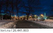 Вечерний город! (2017 год). Редакционное фото, фотограф Игорь Горелик / Фотобанк Лори