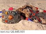 Jewelry with precious stones. Стоковое фото, фотограф McPHOTO/M. Klindwort / age Fotostock / Фотобанк Лори