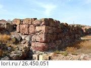 Купить «Archaeological excavations. Metsamor, Armenia», фото № 26450051, снято 13 октября 2016 г. (c) Анна Мартынова / Фотобанк Лори