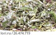 Купить «Herbal Carpathian tea», видеоролик № 26474719, снято 26 апреля 2017 г. (c) Потийко Сергей / Фотобанк Лори