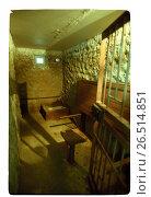 Купить «Тюремный карцер», фото № 26514851, снято 22 апреля 2019 г. (c) Борис Кавашкин / Фотобанк Лори
