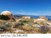 Венецианская крепость Фортецца  в городе Ретимно на острове Крит, Греция, фото № 26546495, снято 3 июня 2017 г. (c) Наталья Волкова / Фотобанк Лори