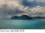 Купить «Карадаг. Крым», эксклюзивное фото № 26547679, снято 16 июня 2017 г. (c) Яна Королёва / Фотобанк Лори