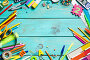 Items for children's creativity, фото № 26553367, снято 14 июня 2017 г. (c) Типляшина Евгения / Фотобанк Лори
