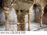 Купить «Detail of Banuelo baths (El Banuelo). Granada», фото № 26554159, снято 13 мая 2016 г. (c) Яков Филимонов / Фотобанк Лори