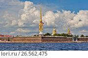 Петропавловская крепость. Санкт-Петербург (2016 год). Стоковое фото, фотограф Сергей Афанасьев / Фотобанк Лори