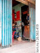 Купить «Vietnam, H? Chí Minh, Ho Chi Minh City, In the Chinese Quarter on the Vietnamese New Year's Day the Tet», фото № 26563419, снято 15 ноября 2018 г. (c) age Fotostock / Фотобанк Лори