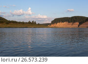 Пейзаж реки Сухоны в урочище Опоки Вологодской области, фото № 26573239, снято 12 августа 2016 г. (c) Николай Мухорин / Фотобанк Лори
