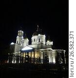 Купить «Собор Александра Невского (Симферополь)», фото № 26582371, снято 13 апреля 2017 г. (c) Ярослав Коваль / Фотобанк Лори