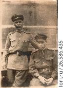 Купить «Советские военнослужащие, 1944», фото № 26586435, снято 13 июля 2020 г. (c) Retro / Фотобанк Лори