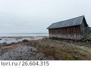 White sea, old slip dock, Chupa Karelia, white polar night, фото № 26604315, снято 19 июня 2015 г. (c) Сурикова Ирина / Фотобанк Лори