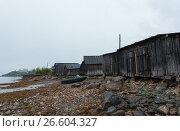 White sea, old slip dock, Chupa Karelia, white polar night, фото № 26604327, снято 19 июня 2015 г. (c) Сурикова Ирина / Фотобанк Лори