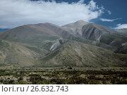 Andes near Las Lenas (2017 год). Стоковое фото, фотограф Яков Филимонов / Фотобанк Лори