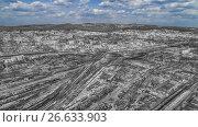 Город Чита, HDR черно-белый, голубое небо, фото № 26633903, снято 7 мая 2017 г. (c) Геннадий Соловьев / Фотобанк Лори