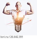 Strong business idea. Стоковое фото, фотограф Сергей Петерман / Фотобанк Лори