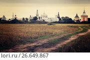 Купить «Spaso-Prilutsky Monastery in Vologda, Russia», фото № 26649867, снято 29 августа 2016 г. (c) Яков Филимонов / Фотобанк Лори