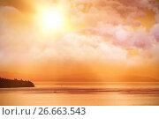 Купить «Composite image of high angle view of cloudscape», фото № 26663543, снято 23 июля 2019 г. (c) Wavebreak Media / Фотобанк Лори