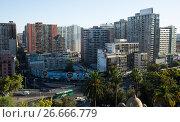 Views of Santiago, capital of Chile (2017 год). Редакционное фото, фотограф Яков Филимонов / Фотобанк Лори