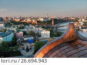 Купить «Moscow Kremlin at sunset», фото № 26694943, снято 18 мая 2017 г. (c) Liseykina / Фотобанк Лори