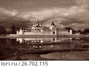 Купить «Russia, Ipatievsky monastery, photo in vintage style», фото № 26702115, снято 25 мая 2019 г. (c) ElenArt / Фотобанк Лори